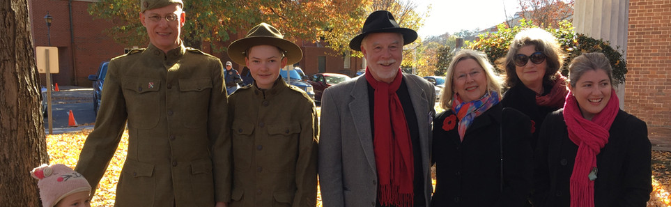 Veteran's Day Celebration honoring 100th Anniversary of WWI