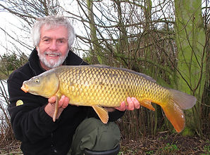 Daiwa consultant Brian Skoyles with a nice carp at Westerly Lake York.