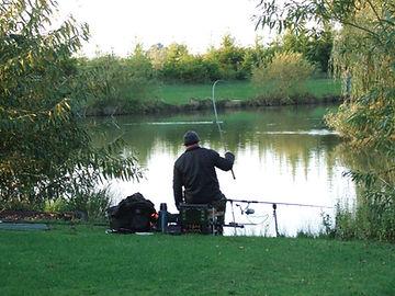 Coarse fishing at Westerly Lake Fishing and Caravan Park Yorkshire.