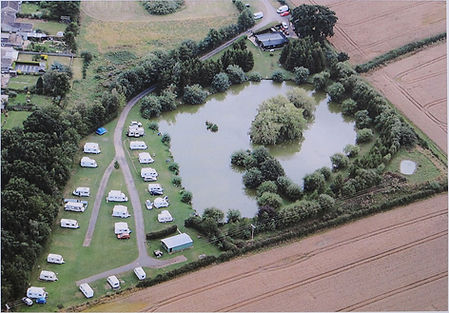 Westerly Lake Fishing and Caravan Park aerial picture.