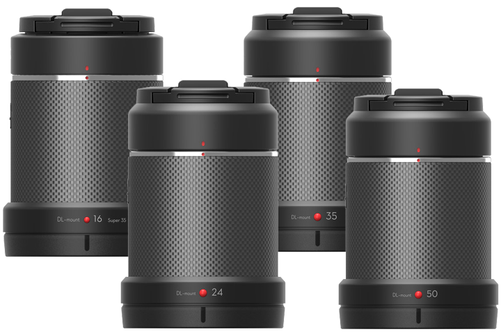 DJI Zenmuse X7 Lens Kit