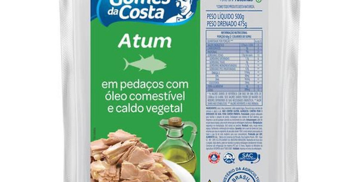 Gomes da Costa atum em pedaços 120g