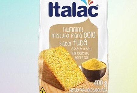 Italac massa para bolo 400g