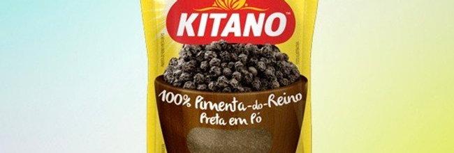 Kitano pimenta do reino preta em pó