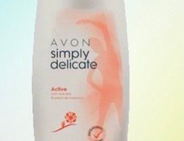 Avon simply Delicate sabonete líquido 250ml