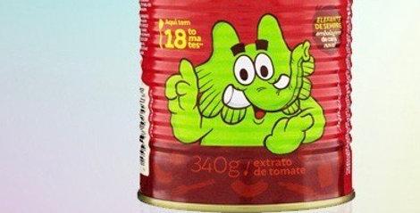 Molho de tomate elefante 340g