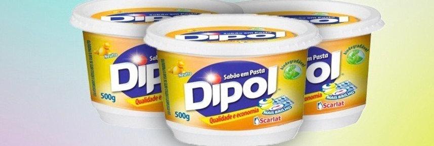 Sabão em pasta Dipol 600g