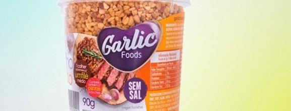 Garlic foods alho frito 90g