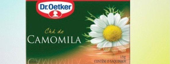 Chá de camomila Dr Oetker