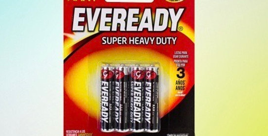 Pilha eveready AAA4