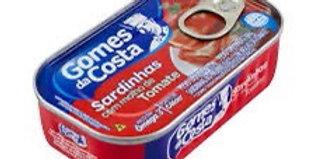 Gomes da Costa sardinha com molho de tomate 125g