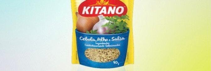 Kitano cebola alho e salsa 10g