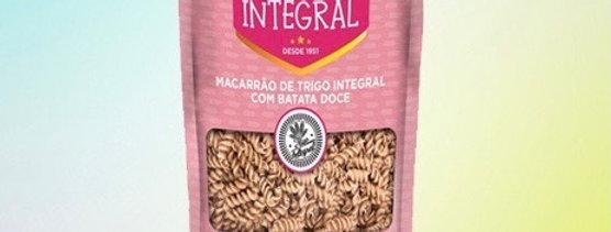 Macarrão integral excelsa com batata doce 200g