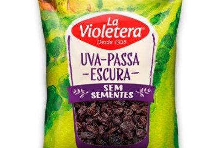 Uva passa lá violetera sem sementes 100g