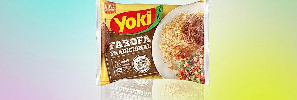 Yoki farofa tradicional