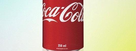 Coca latinha 350ml