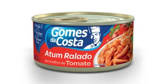 Gomes Costa atum ralado com molho ao tomate 110g