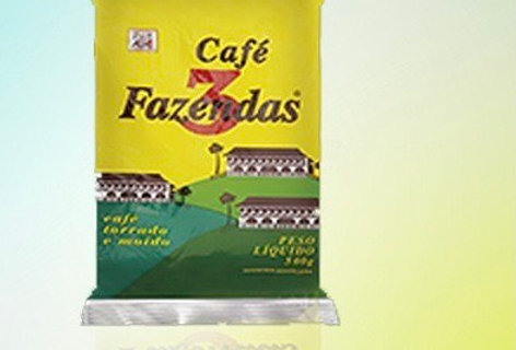 Café 3 fazendas 500g