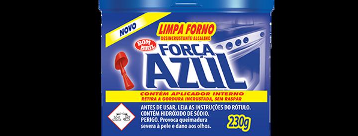 Limpa forno força azul 230g