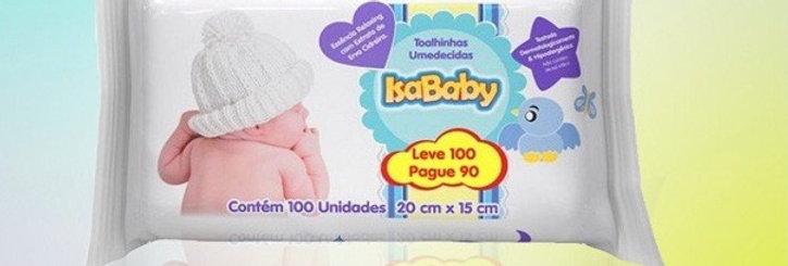 Isababy lenços umidecidos