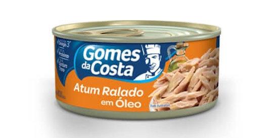 Gomes da Costa atum ralado em óleo 170g