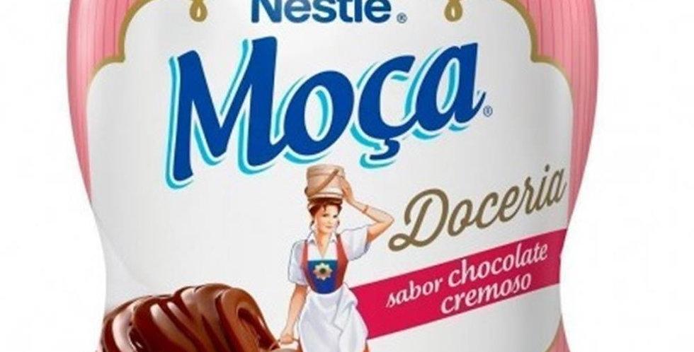 Leite condensado moça Nestlé chocolate 385g