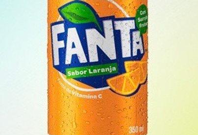 Fanta latinha 350ml