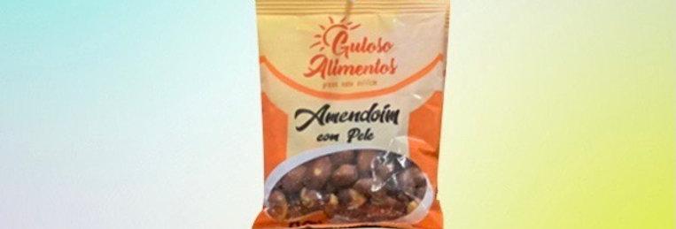 amendoim com pele gulosos alimentos