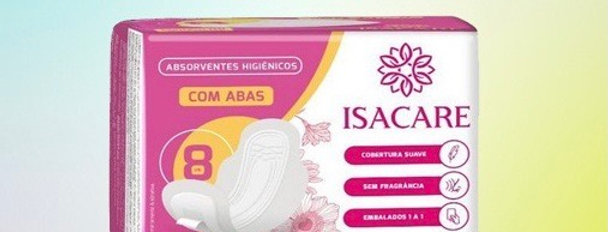 Isacare absorvente