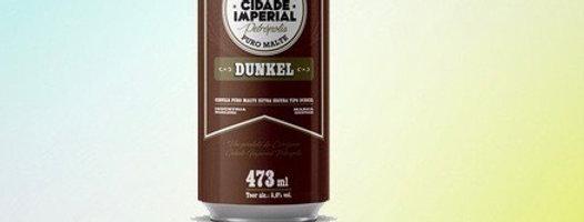 Cerveja cidade imperial 473ml