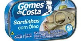 Gomes da Costa sardinha com óleo 125g