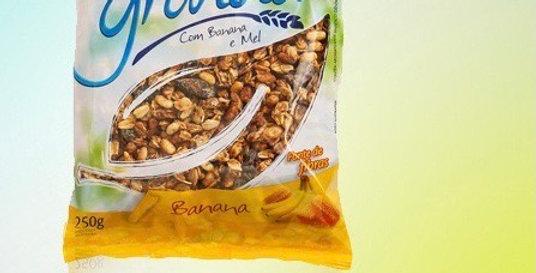 Granola com banan e mel 250g