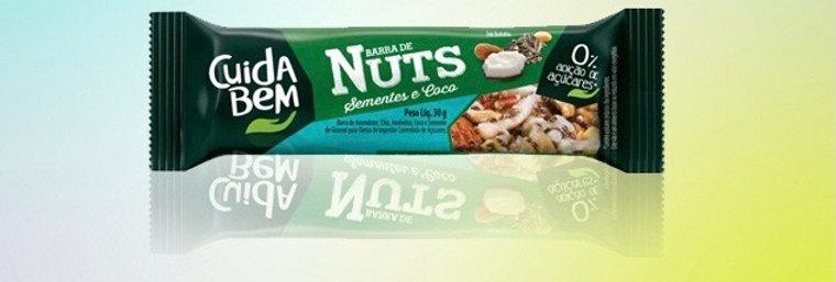 Barrinha nuts coco