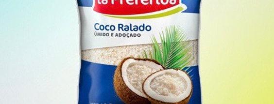 Coco ralado lá preferida
