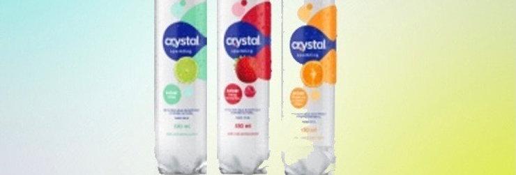 Água saborisada cristal