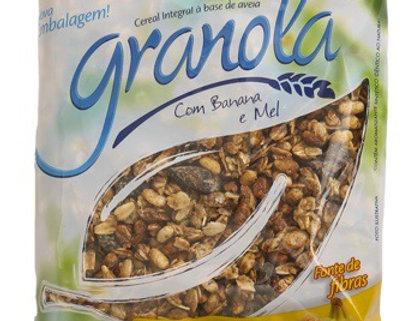 Granola feinkost com banana e mel 250g