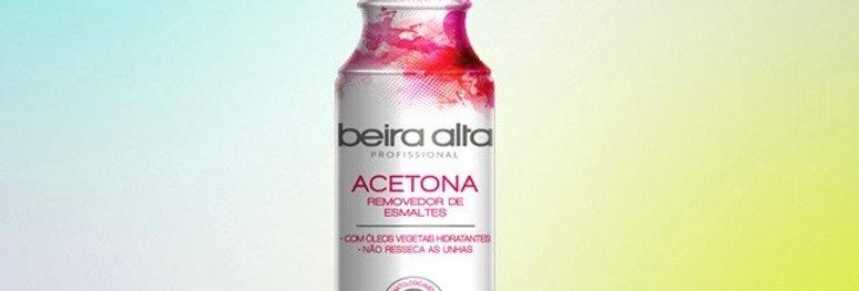 Acetona beira alta 249 ml