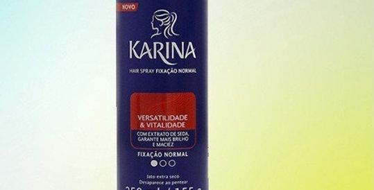 Karina spray para cabelos