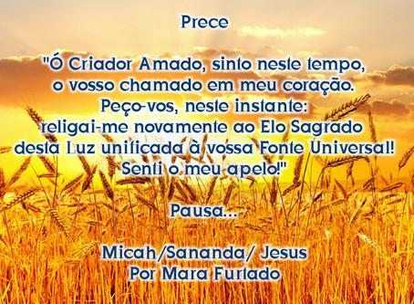 Mensagem de Micah, Sananda, o Cristo Jesus, em 03 de abril de 2020
