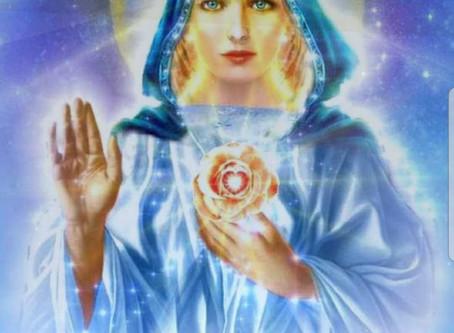 Mensagem de Robilinha, Mestra Tudo do Manto Azul de Amor e Luz