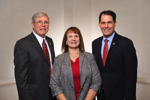 Rich and Paula Vial, Scott Walker