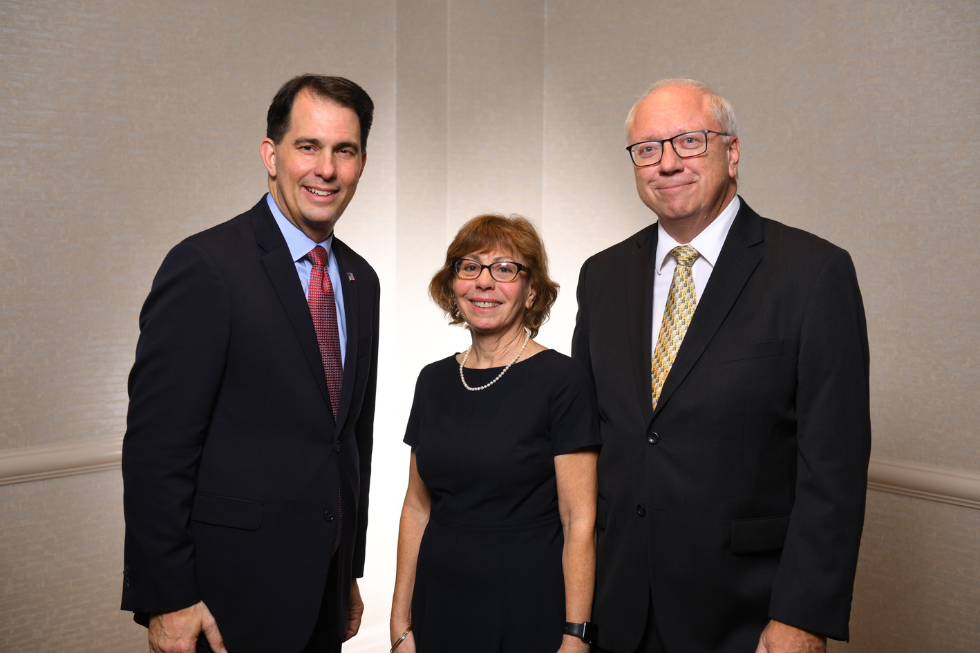 Scott Walker, Deb and Mike Mihalik