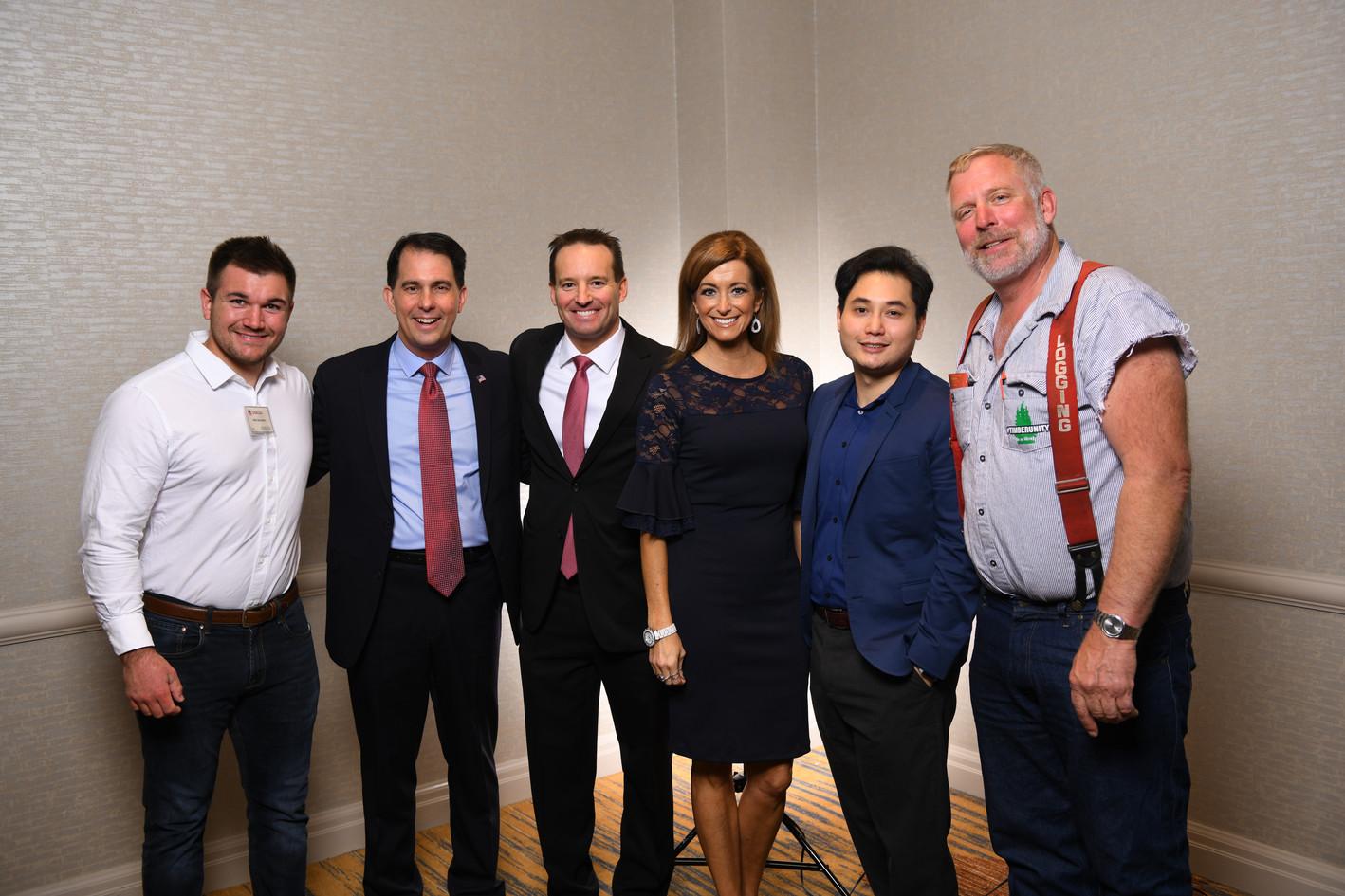 Alec, Scott, Dan, Peggy, Andy, Mike