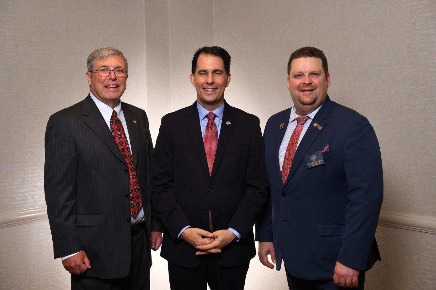 Rich Vial, Scott Walker, David Brock Smith