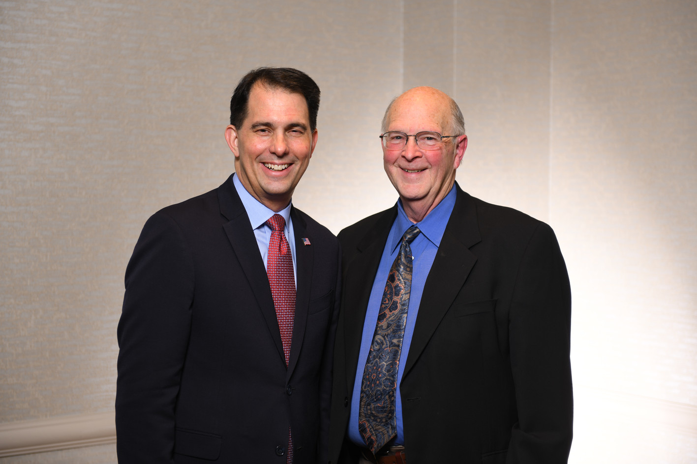 Scott Walker and friend