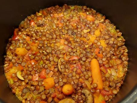 Lentils soup (Instant Pot)