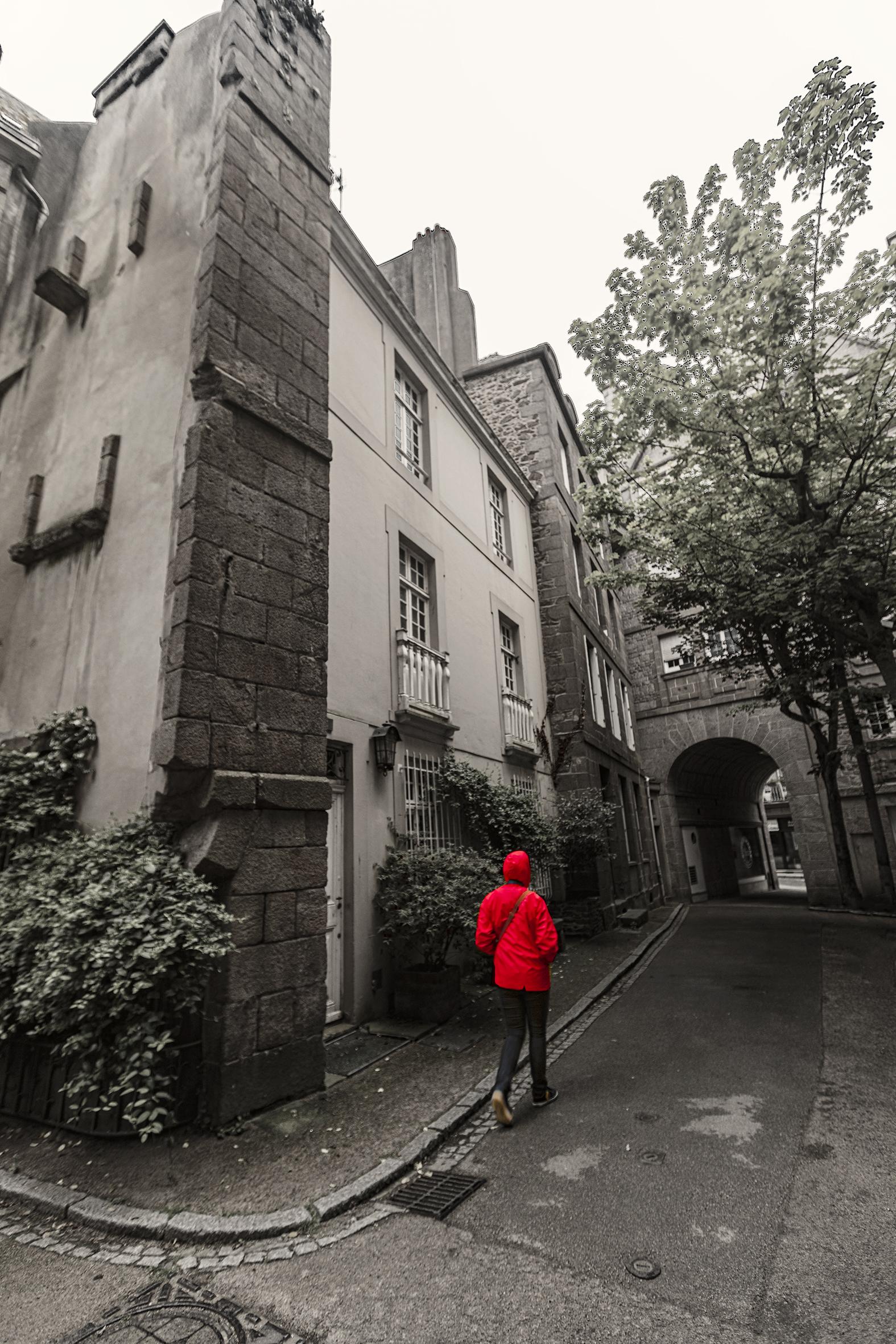 Retour du manteau rouge