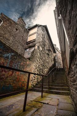 Escalier confinement