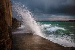 Vague de tempête