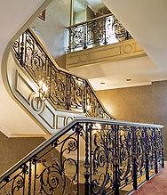 перила для лестниц кованые и летые
